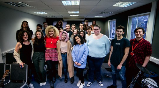 Fiona Bevan visits ICMP | Interview | London Music School