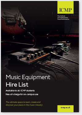 ICMP music equipment list
