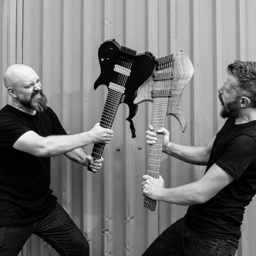 HAKEN Guitar Clinic - Charlie Griffiths & Richard Henshall