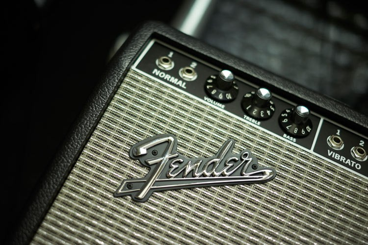 Fender Guitar Amps at ICMP Music School