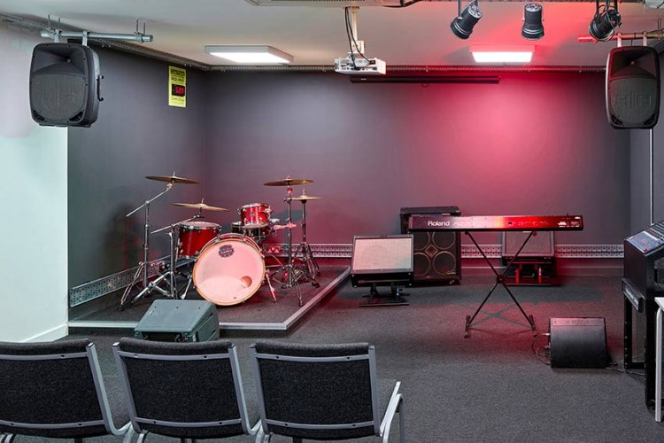 Music Performance Teaching Room