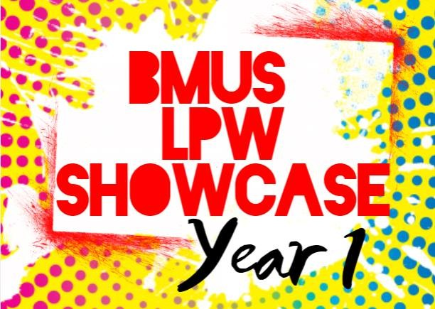 BMus Popular Music Performance | Live Performance Workshop | Showcase | First Year