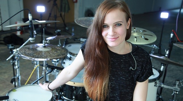 Anika Nilles Drum masterclass at the Institute