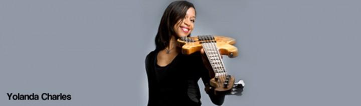 Yolanda Charles and Bass Guitar