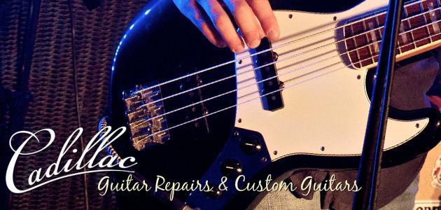 Cadillac Bass Guitar Image