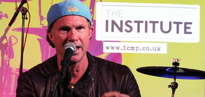 Chad Smith Speaking at the Institute