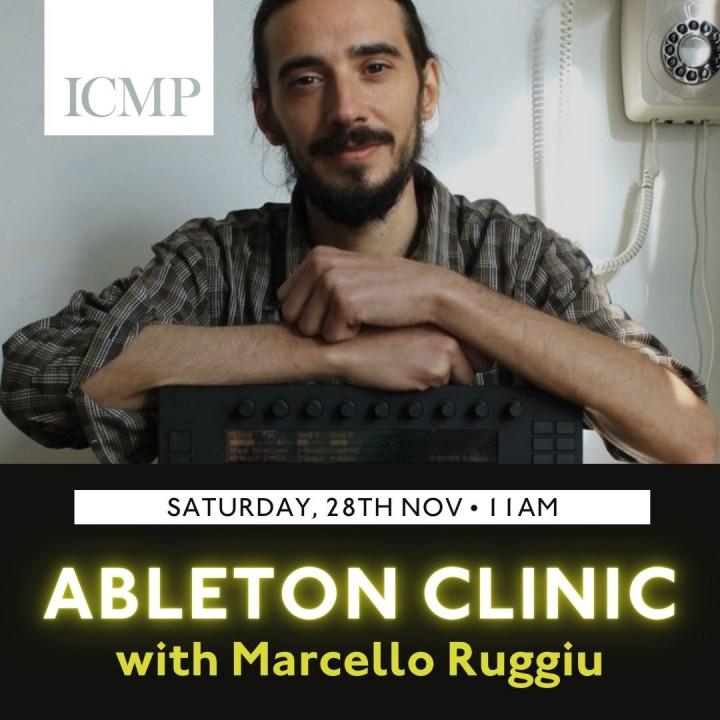 Ableton-Clinic-Marcello-Ruggiu