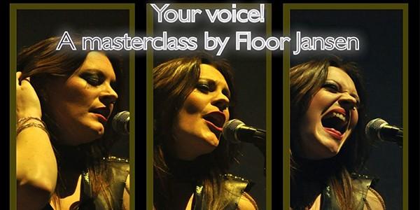 Floor Jansen Poster for Masterclass