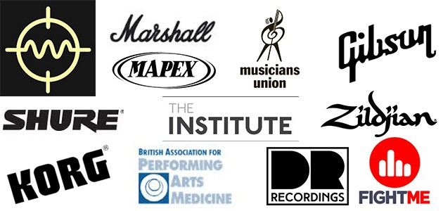 Different music brands poster