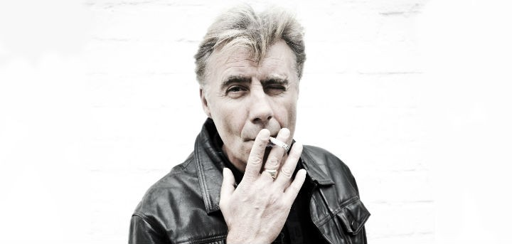 Glen Matlock smoking