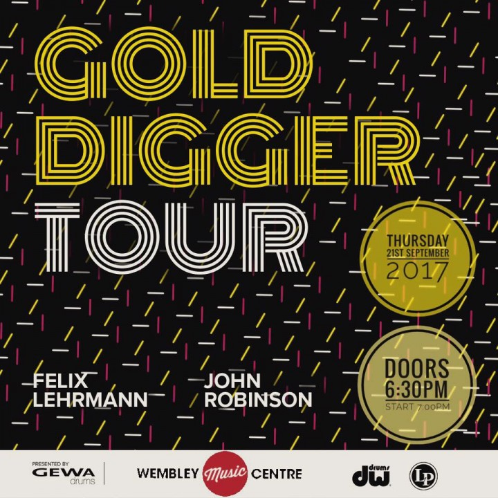 Get free tickets to the Gold Digger Tour at Wembley Music Centre