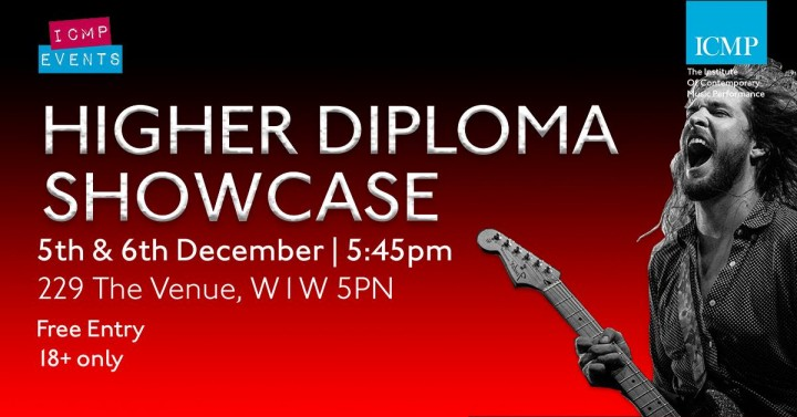 ICMP Higher Diploma Showcase December 2017