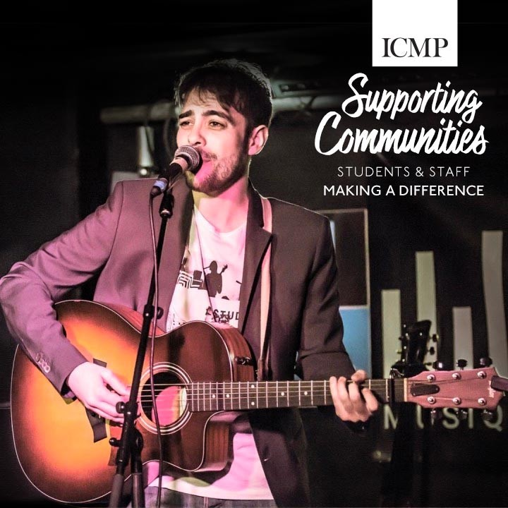 Jesus Correderas | Songwriting Student | NHS Nurse | ICMP