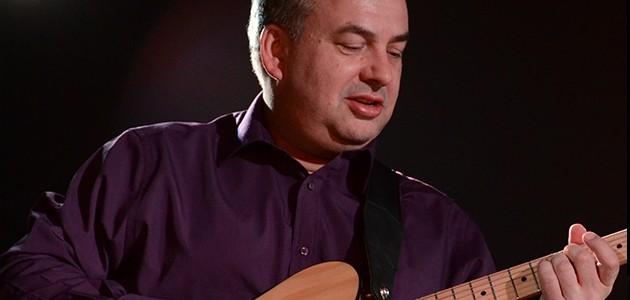 Lee Hodgson Playing Guitar
