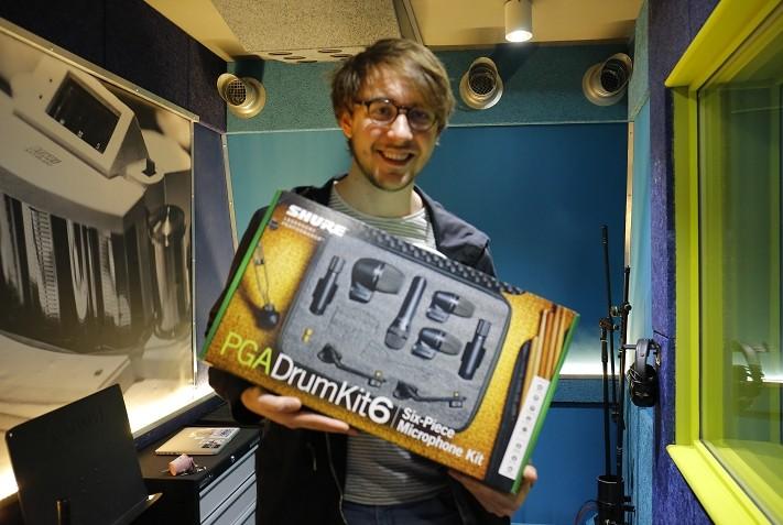 Léo Martin | Drum & Win Contest winner