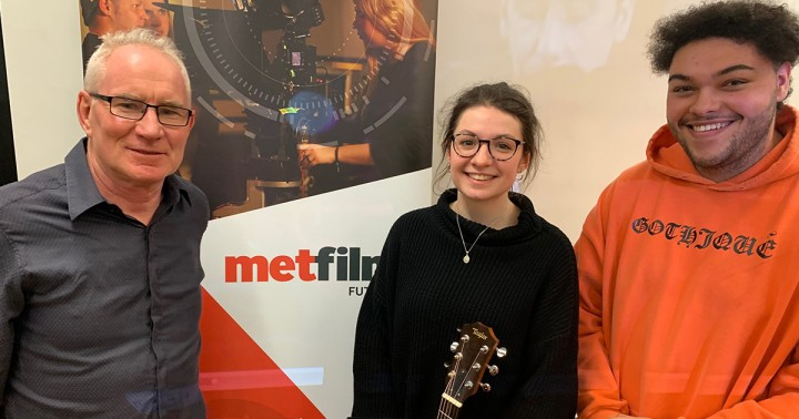ICMP students perform at MetFilm School London