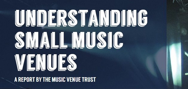 Image of Music Venues Trust Report Cover