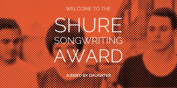 image from shure award site