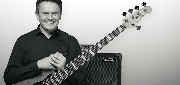 Picture of Phil Man and Bass Guitar