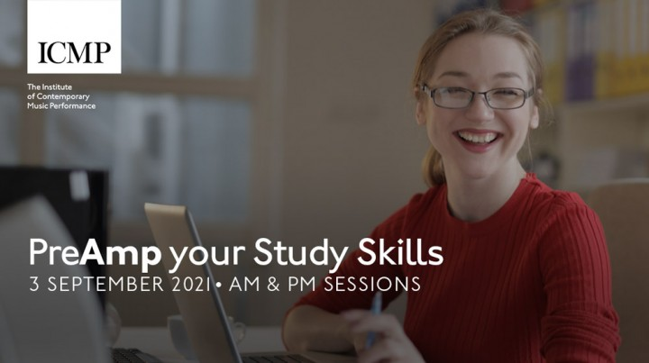 Wellbeing event   Pre-Amp your Study Skills