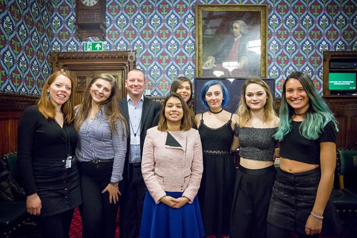ProVoc choir perform at Westminster
