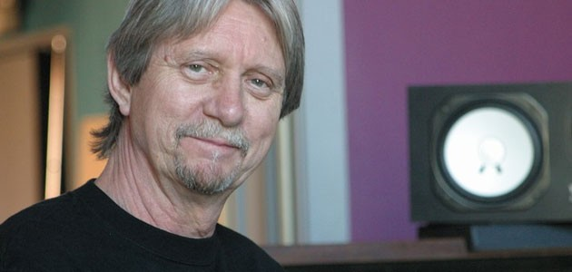Ralph Murphy in the Institute's Recording Studio