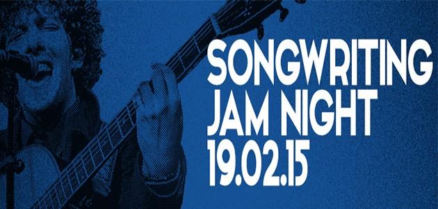 Songwriting Jam Night Logo