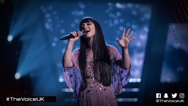 Truly Ford at The Voice UK