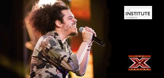 Davide Sciortino performing on the X Factor Italia