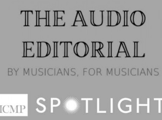 spotlight-the-audio-editorial