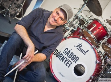 Gábor Dörnyei | Drum Tutor | ICMP London