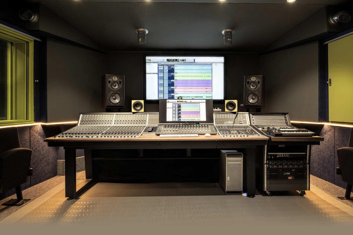 Recording Studios at ICMP London