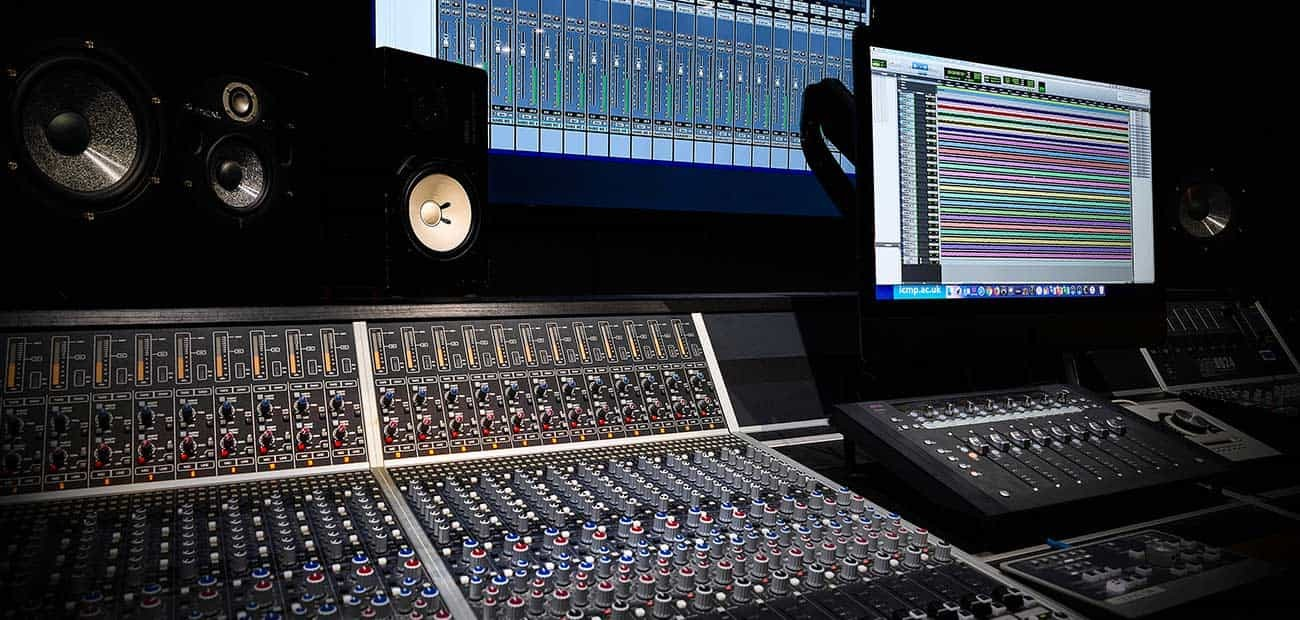 Music School Open Day | Mixing Desk