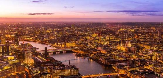 London Music Skyline