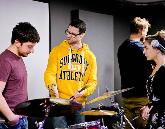 Drum lessons London | ICMP Music School