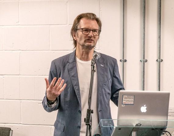 Ian Ramage tutor di ICMP Londra