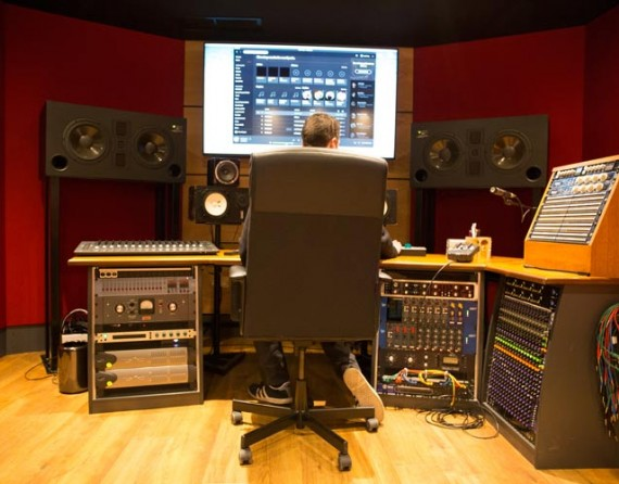 Tileyard Studios Music Production room
